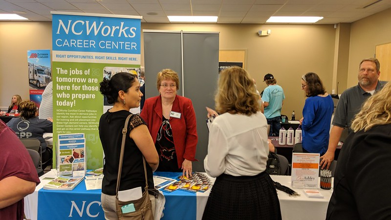 Local Industry and Community College Join Forces at Davie County Job Fair