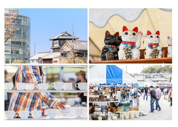 「せと陶祖まつり」2019 愛知県瀬戸市 陶器の招き猫