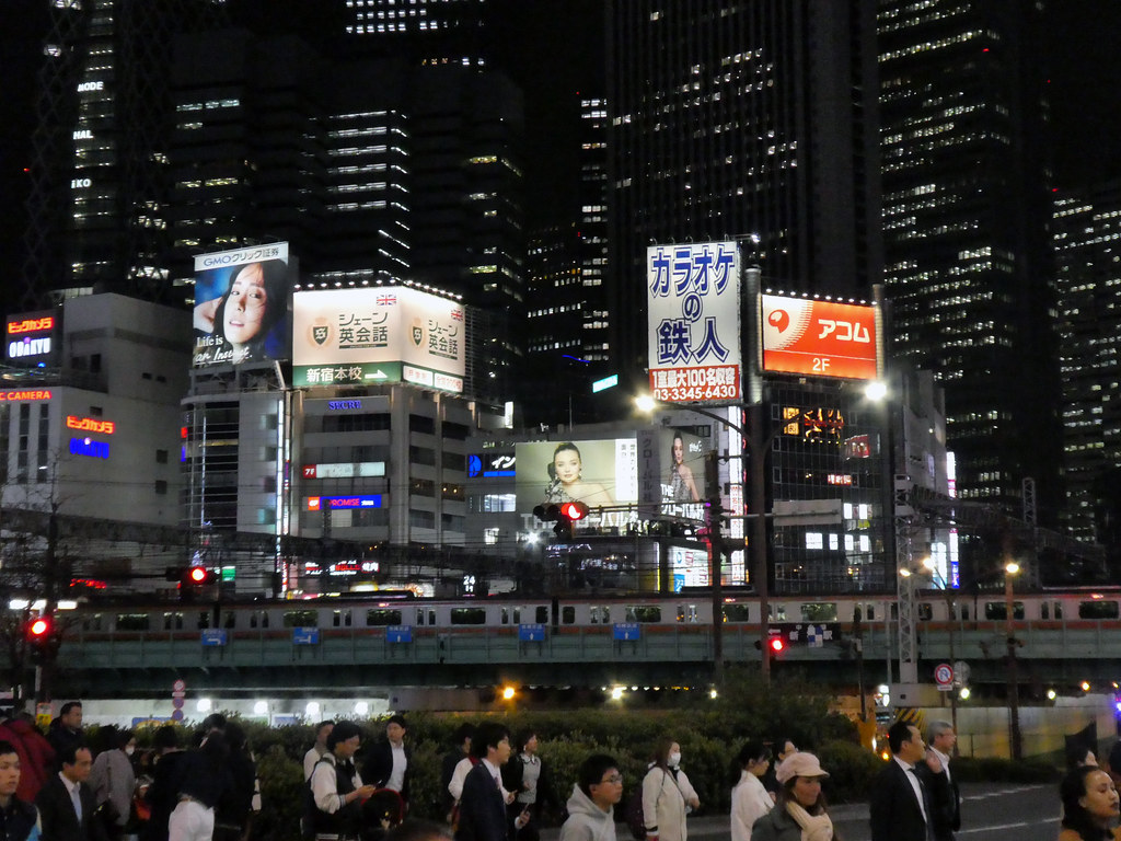 Shinjuku dai gādo (Omekai Road Bridge)