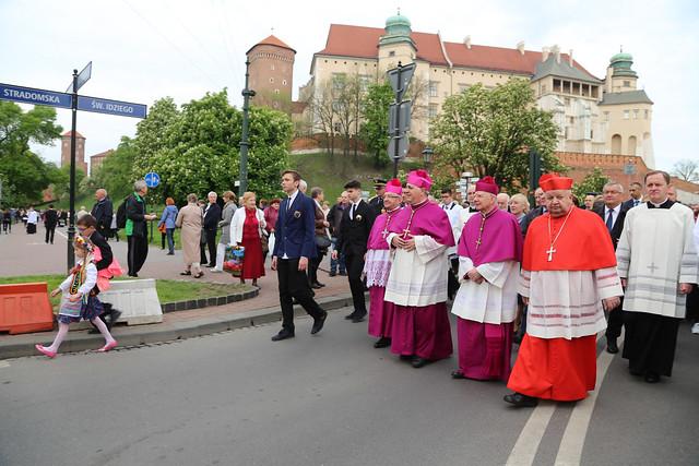 Uroczystość ku czci św. Stanisława - Kraków, 11 V 2019 r.