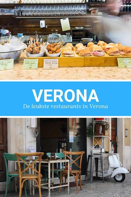 Restaurants Verona: de hele dag lekker eten | Mooistestedentrips.nl