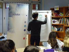 Taller de ilustración con el dibujante Martin Azpilikueta.