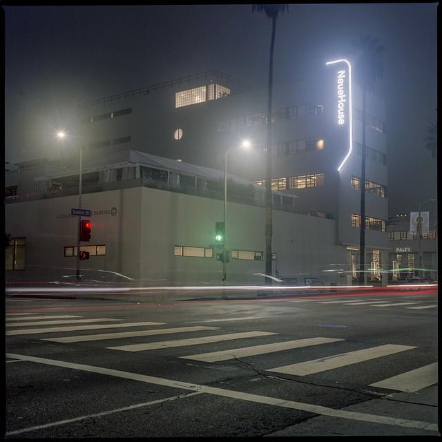 Fog on Sunset