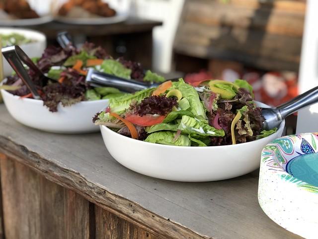 Salads from Backyard