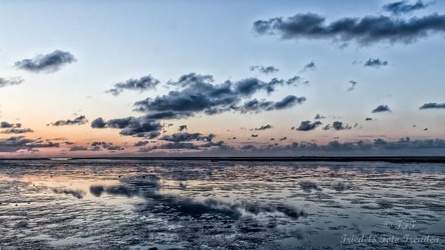 Evening in the mud before Spieka-Neufeld
