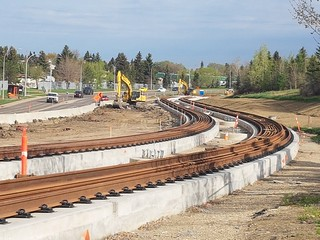 LRT Valley Line south construction:  From Grey Nuns station to Wagner station | by paulsmolik