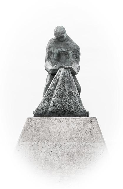 El pescador de piedra.