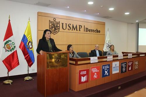 CEREMONIA DE INAUGURACIÓN DE LA IV JORNADA DE LA ESCUELA INTERNACIONAL DE DERECHO USMP