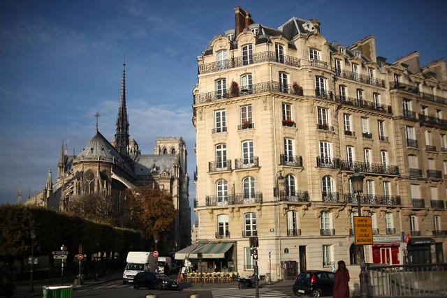 Île de la Cité . Notre Dame . Paris