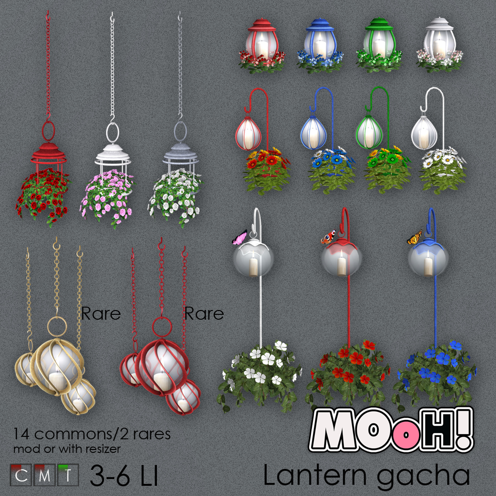 MOoH! Garden lantern gacha