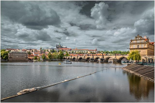 A Prague Cityscape