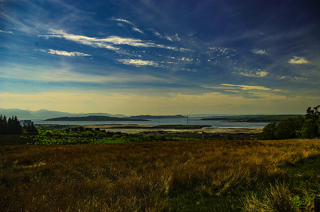 Looking Over Bute