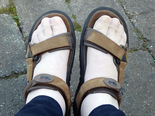 Forgotten Walking Sandals