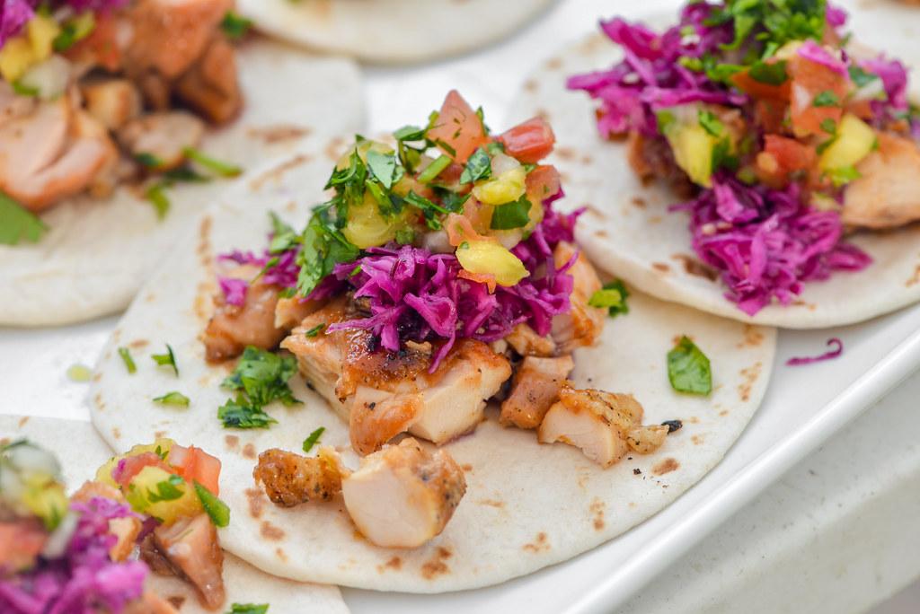 Huli Huli Chicken Tacos