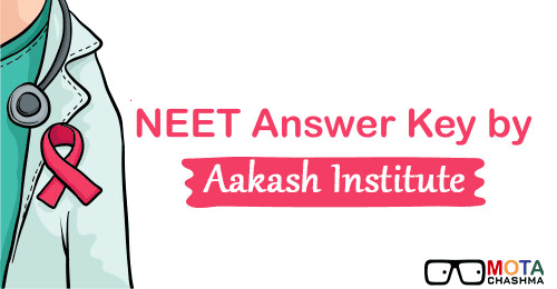 NEET 2019 Answer Key by Aakash Institute