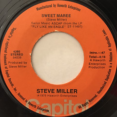 STEVE MILLER:TAKE THE MONEY AND RUN(LABEL SIDE-B)