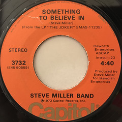 STEVE MILLER BAND:THE JOKER(LABEL SIDE-B)