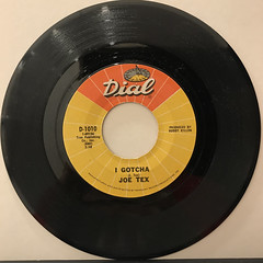 JOE TEX:I GOTCHA(RECORD SIDE-A)