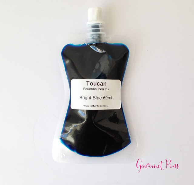 Toucan Bright Blue Ink Review 8