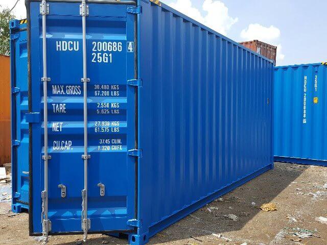 Dịch vụ cho thuê container với mức giá rẻ được xây dựng dựa trên nhiều yếu tố
