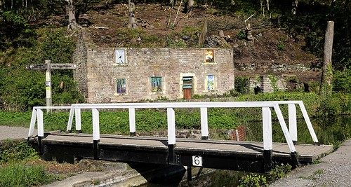 Aqueduct Cottage. Cromford Canal. May 2019