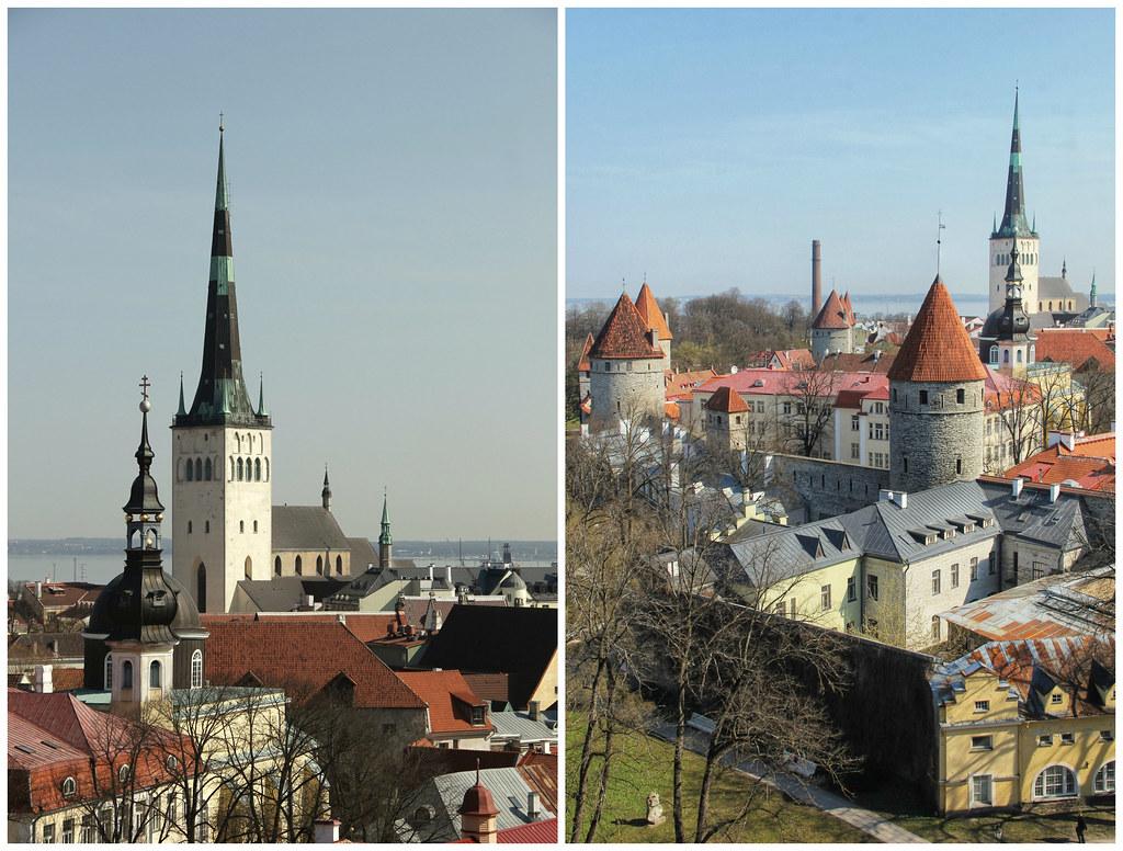 Lookout points, Tallinn