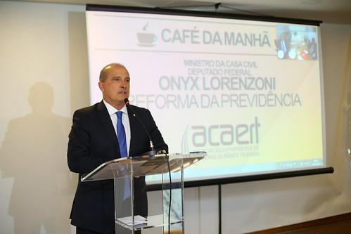 Café da Manhã Onyx Lorenzoni