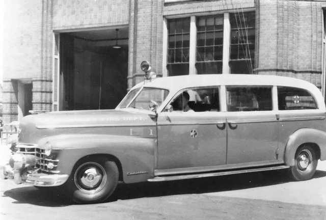Cadillac ambulance from the Milwaukee  Fire Dept.