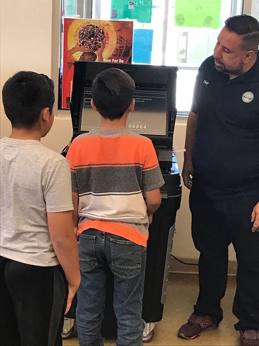 Clerk Helps Coronado Elementary School With Student Body Election