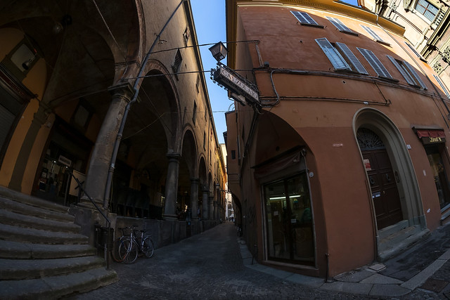 Bologna (Italy)  - Via de' Musei