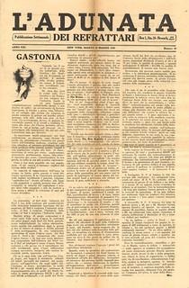 L'Adunata - Italian anarchist newspaper