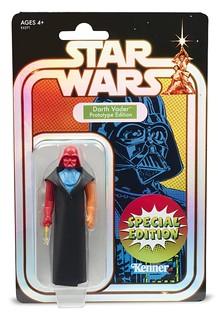復古味滿滿滿! 孩之寶《星際大戰》達斯·維德 (玩具原型Ver.)  Darth Vader (Prototype Ver.) 3.75吋吊卡玩具【2019 SDCC、Target官網限定】