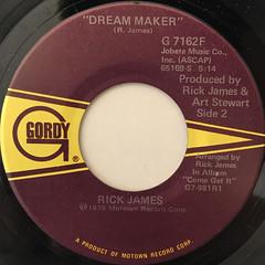 RICK JAMES:MARY JANE(LABEL SIDE-B)