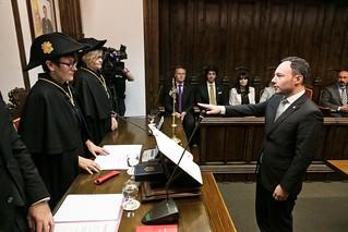 Jurament Sr. Xavier Espot com a Cap de Govern. 16/05/2019
