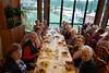 Garda, Abendessen im Hotel, Poiano Garda Resort