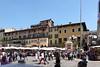 Verona, Piazza delle Erbe, Zentrum der mittelalt. Stadtrepublik