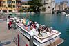 Sirmione, auf dem Boot, bereit für die Insel-bzw.Halbinselrundfahrt