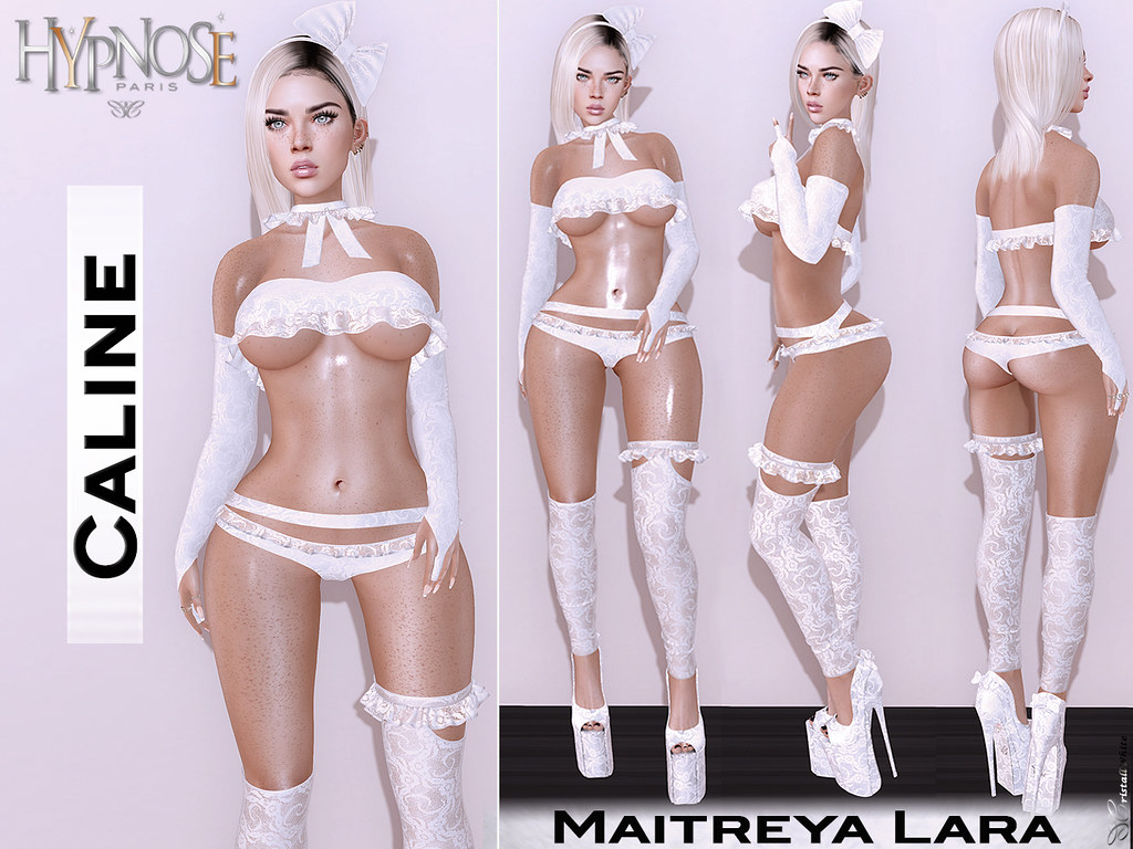 HYPNOSE – CALINE WHITE OUTFIT