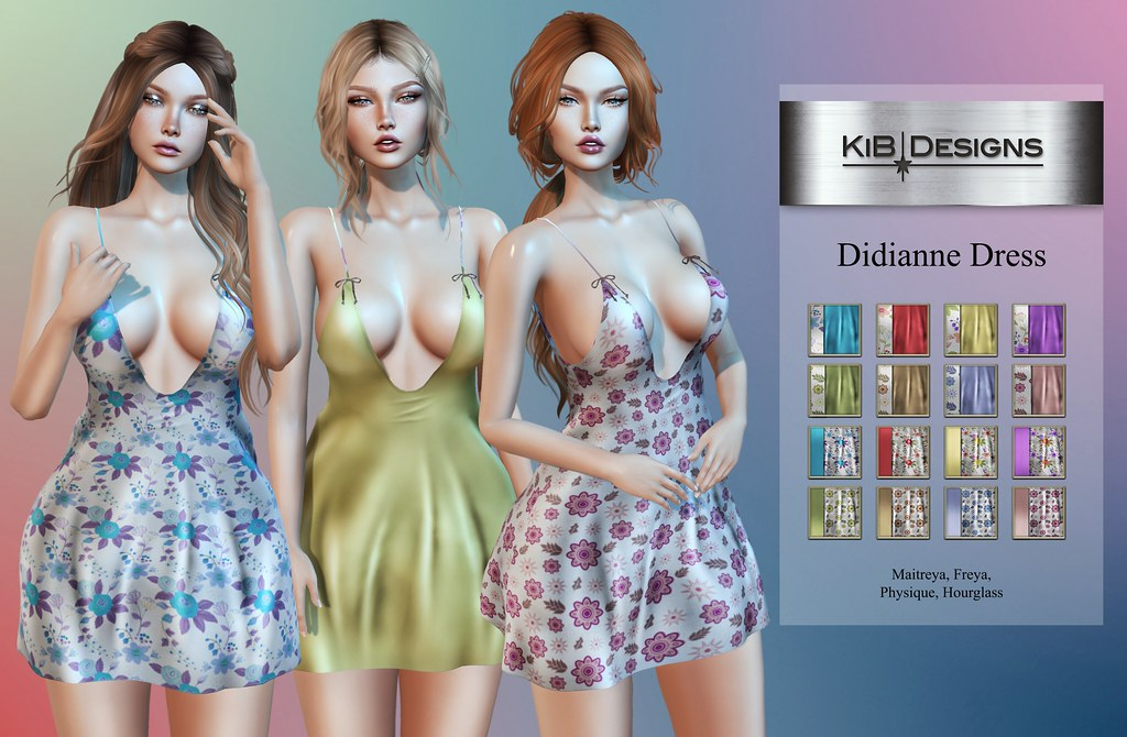 KiB Designs – Didianne Dress @Sense Event