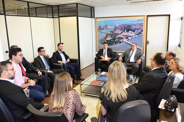 Reunião com os novos Promotores de Justiça do MPPE
