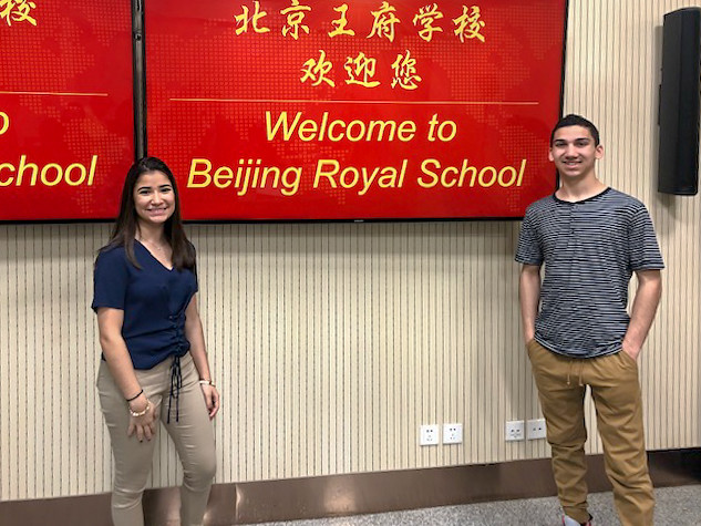 Diazes Delegation to China