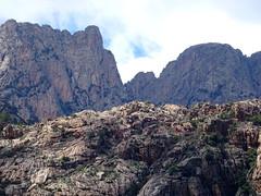 A l'extrémité démaquisée du Chemin de Paliri : vue Promontoire, Tafonu di U Cumpuleddu et Calanca Murata