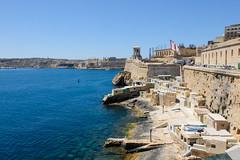 Valletta coastline