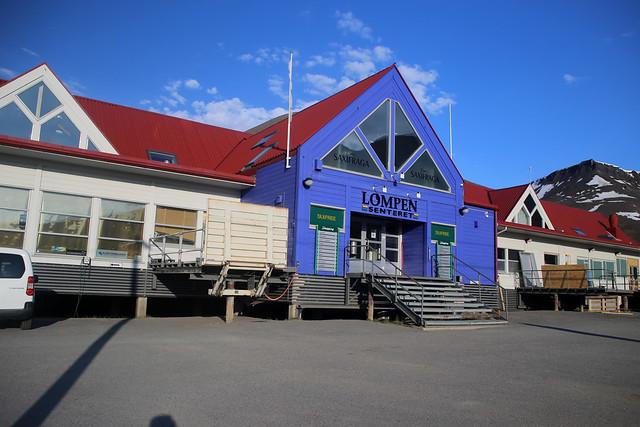 Shopping centre, Longyearbyen