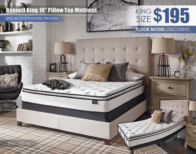 King Bonnell Clearance_Floor Model