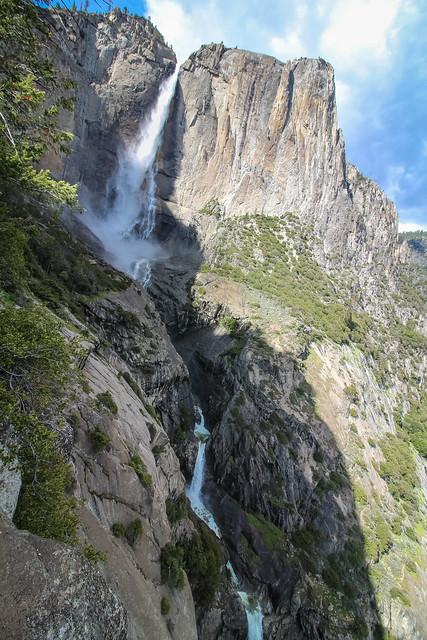 Yosemite Falls' Three Waterfalls