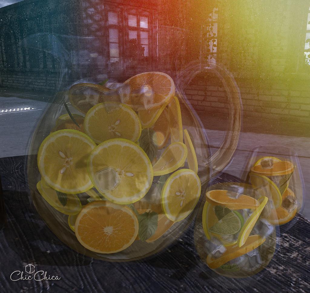 Lemonade dispenser by ChicChica @ Tres Chic