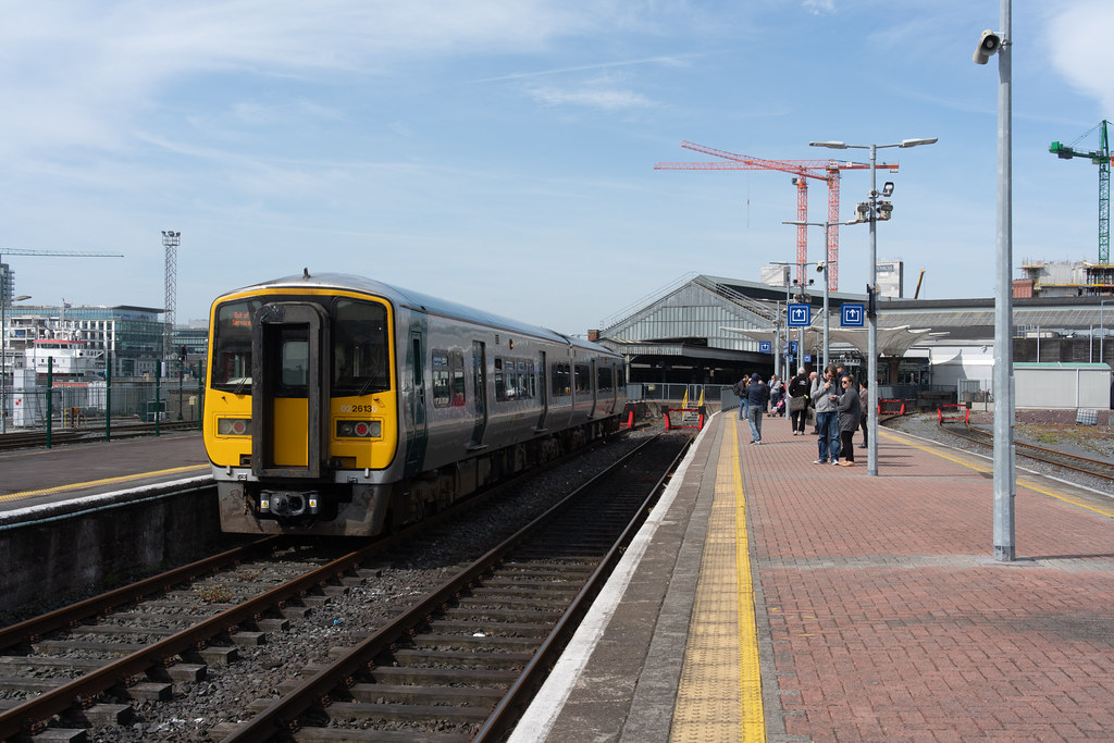 THERE IS A TRAIN EVERY HALF HOUR FROM KENT STATION TO COBH 002