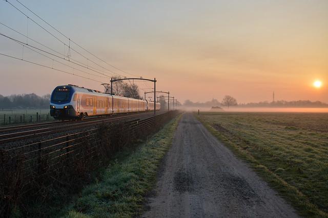 NS Flirt trein stellen