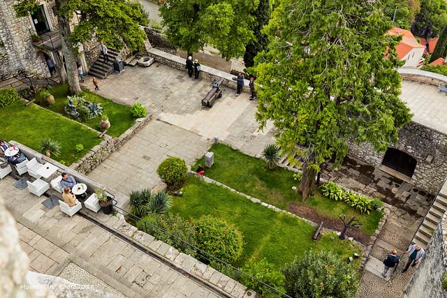 Rijeka: donji dio Trsatske gradine s najviše kule